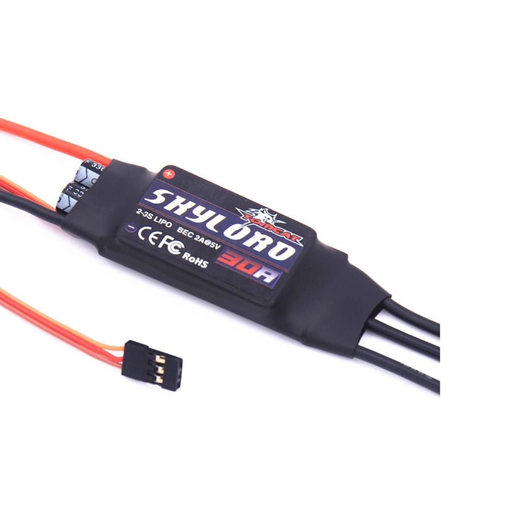 rc-airplane-parts Tomcat Skylord 30A Brushless ESC with 2-3S LIPO BEC 2A@5V for RC Airplane Spare Part HOB1599936