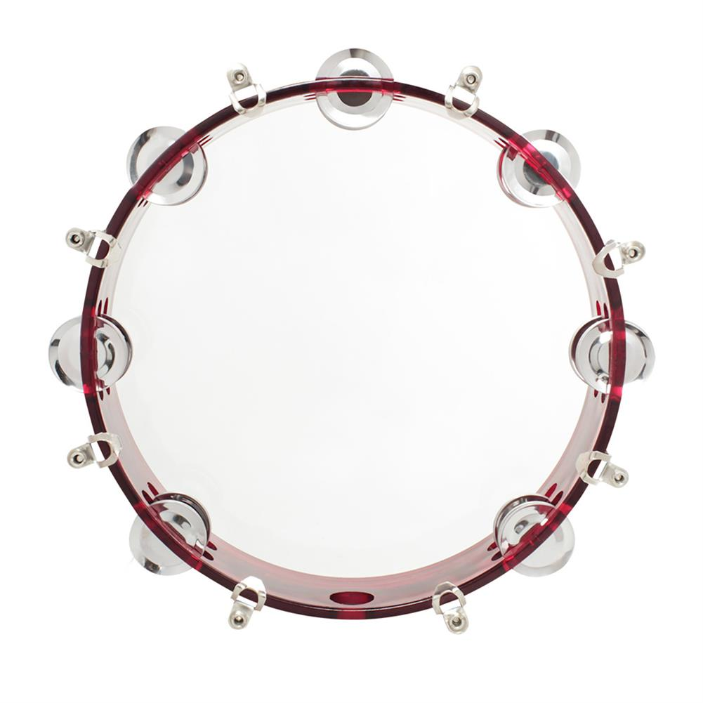 orff-instruments 10 inch J93 ABS Self-adjusting Hand Tambourine Orff instruments for Children HOB1601430 2