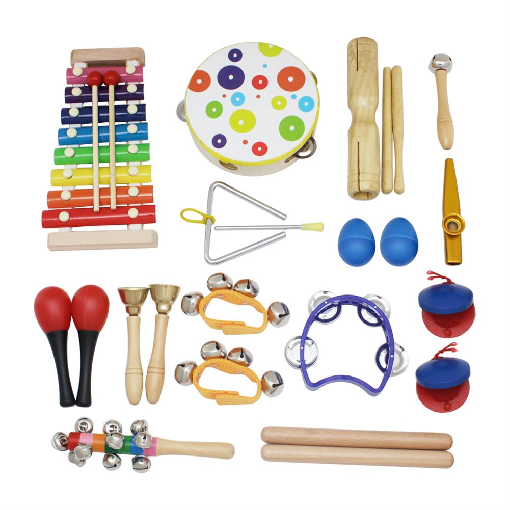 orff-instruments SY-60 19-piece Orff instruments Set Early Education Enlightenment instrument for Children HOB1601432