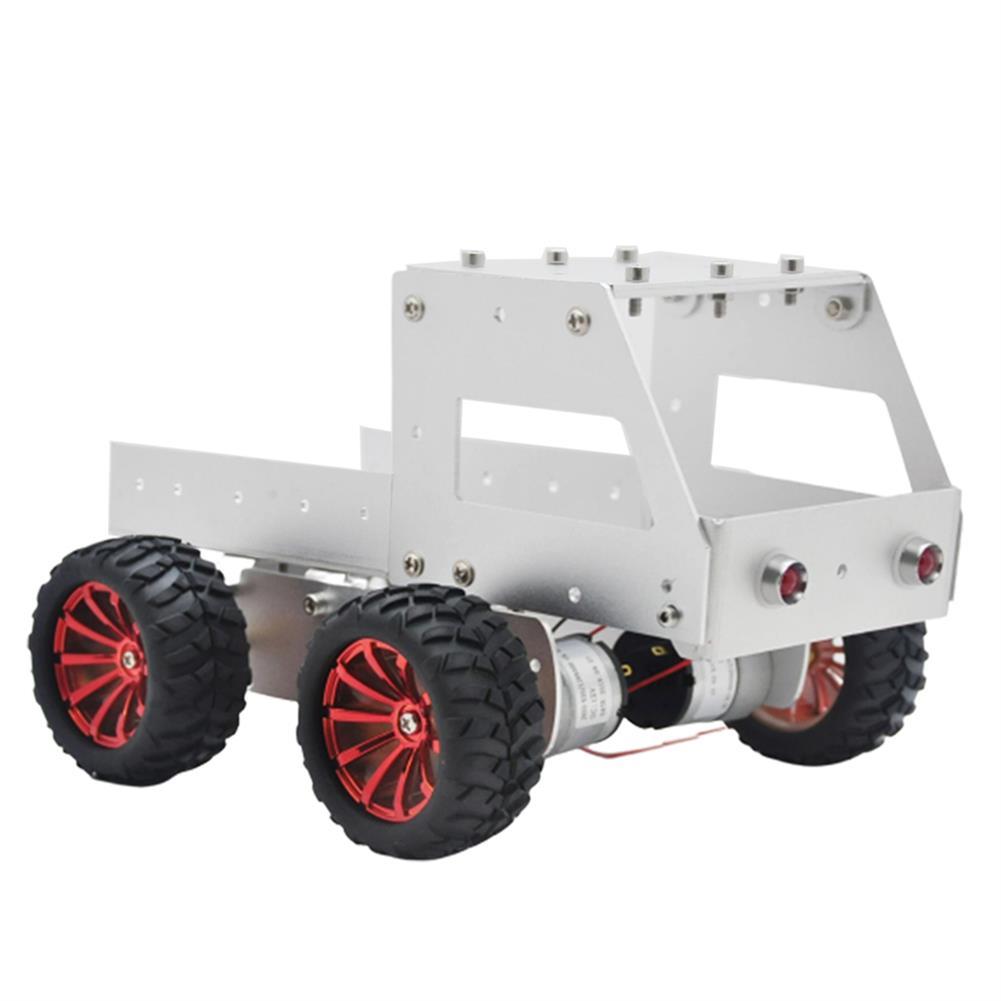 smart-robot-car C-6 DIY Dumper Aluminous Smart RC Robot Car Chassis Base Kit HOB1602879