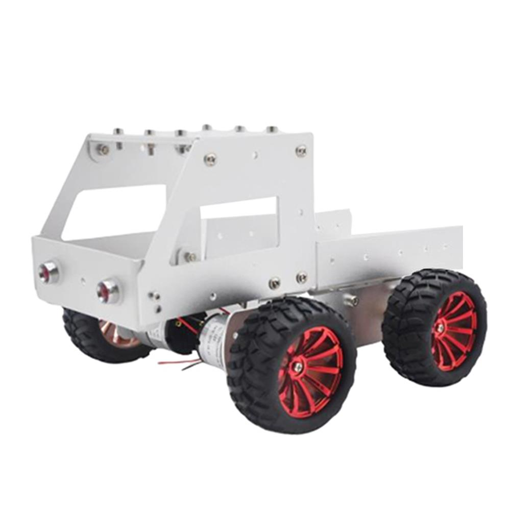 smart-robot-car C-6 DIY Dumper Aluminous Smart RC Robot Car Chassis Base Kit HOB1602879 1