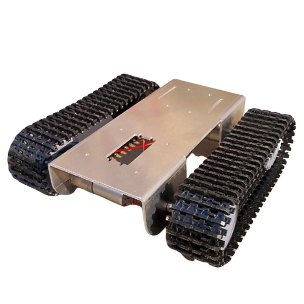 robot-arm-tank DIY Aluminous Smart RC Robot Car Tank Chassis Base for Single Chip UNO HOB1602880