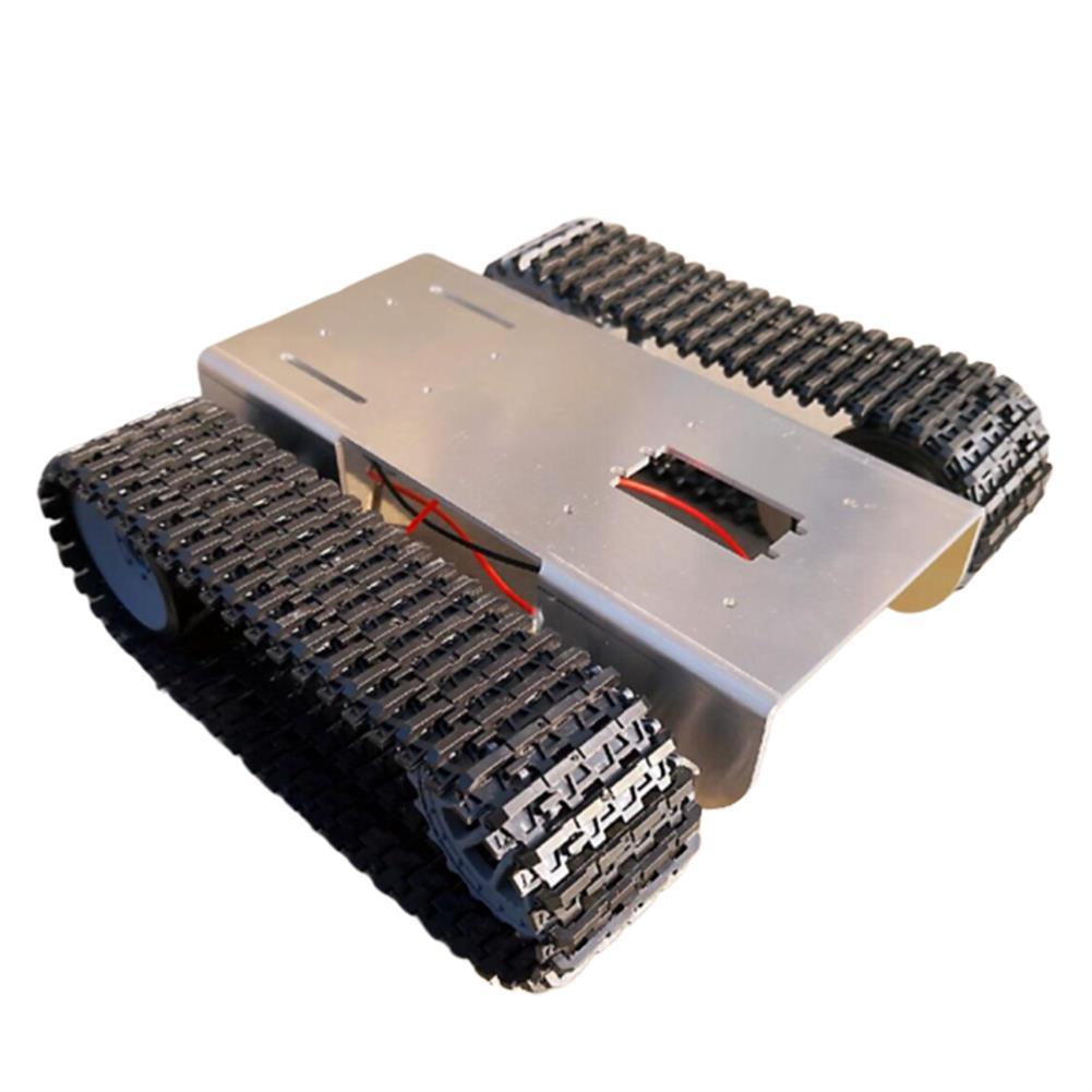 robot-arm-tank DIY Aluminous Smart RC Robot Car Tank Chassis Base for Single Chip UNO HOB1602880 1
