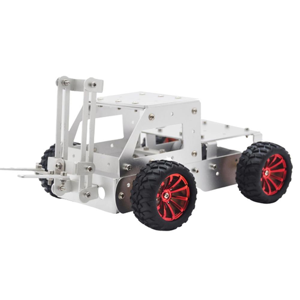 smart-robot-car C-5 DIY forklift Truck Car Aluminous Smart RC Robot Car Chassis Base Kit HOB1602882
