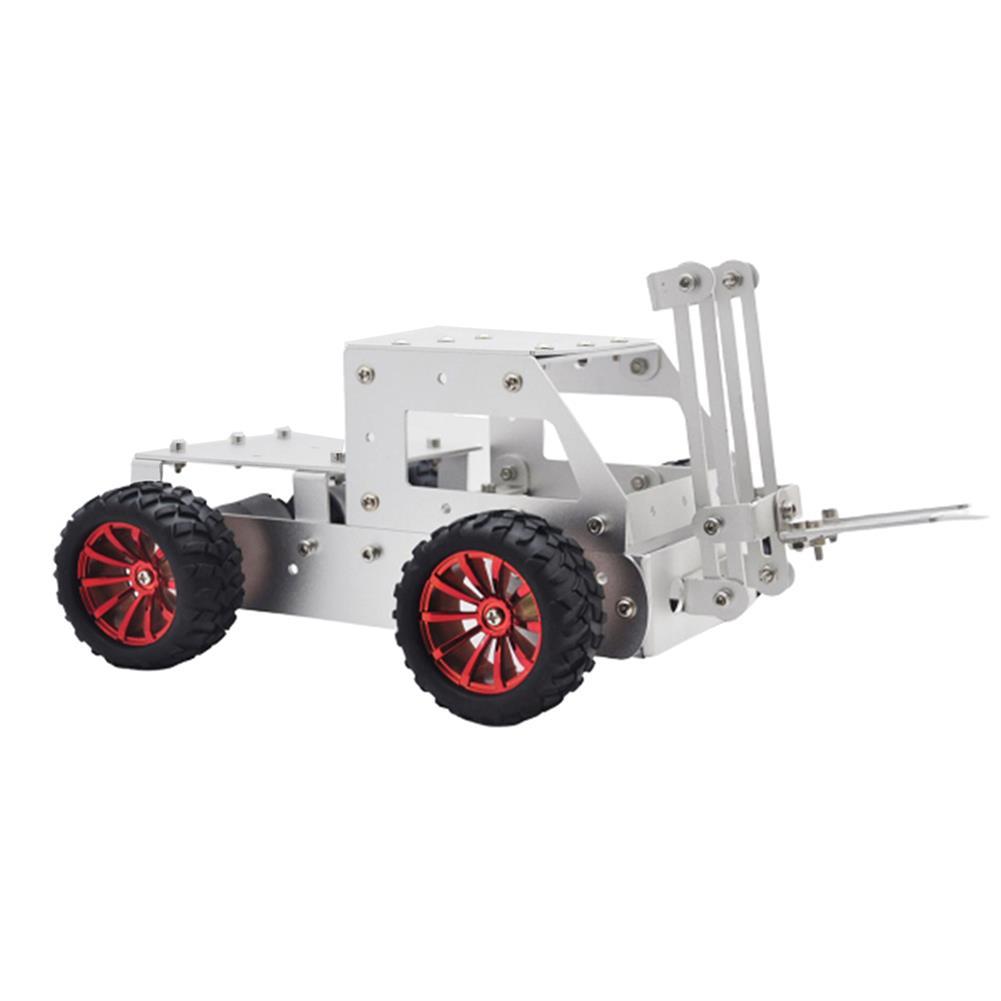 smart-robot-car C-5 DIY forklift Truck Car Aluminous Smart RC Robot Car Chassis Base Kit HOB1602882 1