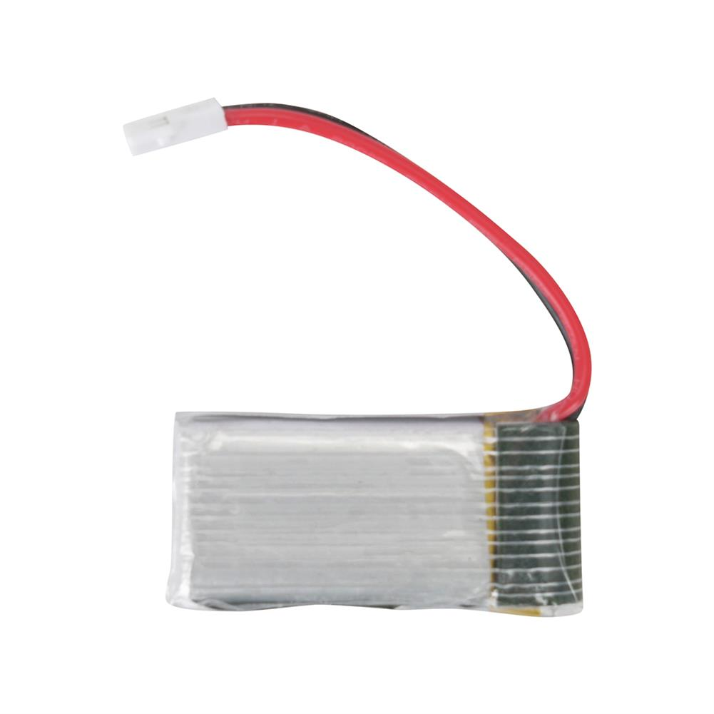 battery-charger 4Pcs 3.7V 350mAh 25C 1S Lipo Battery White Plug with JJRC X8 Charger for UDIRC U12S RC Helicopter HOB1602940 3