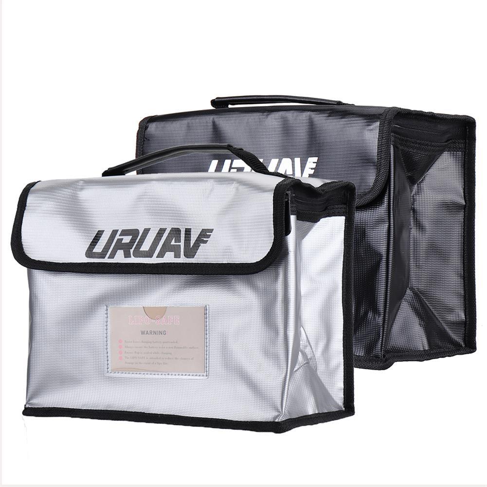 battery-charger URUAV UR27 Fireproof Waterproof Lipo Battery Safety Bag 26X18X13cm with Label Folder HOB1602946