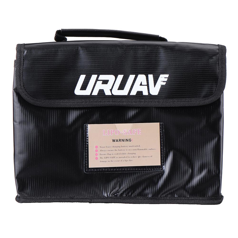battery-charger URUAV UR27 Fireproof Waterproof Lipo Battery Safety Bag 26X18X13cm with Label Folder HOB1602946 1