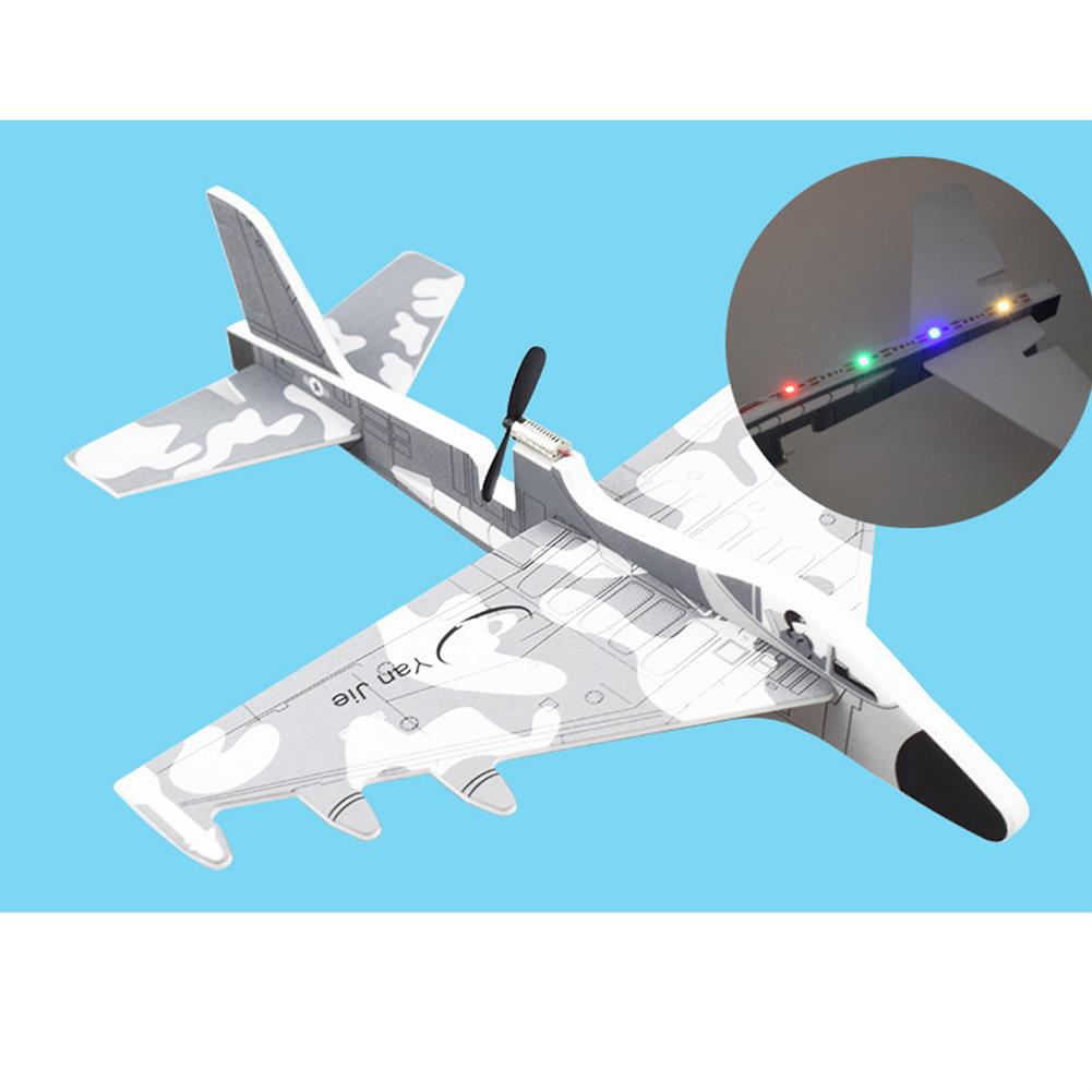 plane-parachute-toys Electric EPP Hand Throwing Foam Aircraft Rotary Airplane Model Plane Toy with LED Light HOB1602984 1