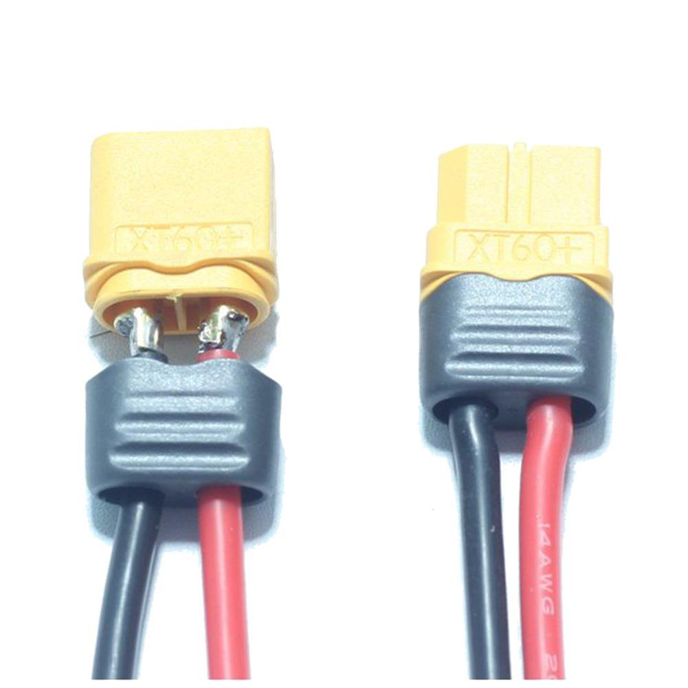 connector-cable-wire 1 Pair AMASS XT60+ Male & Female Plug Connector 14AWG 10cm Power Cable Wire HOB1604199 1