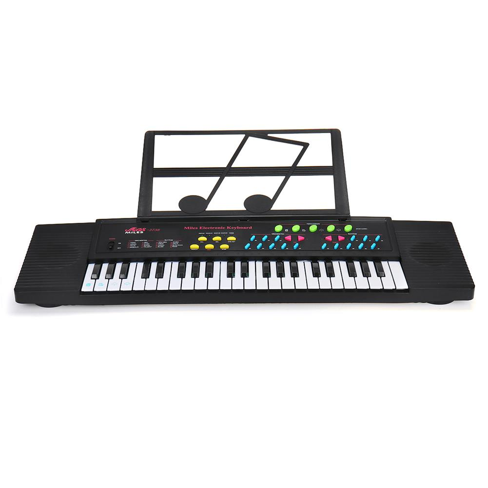 electronic-keyboards 44 Keys Digital Electronic Keyboard Piano with Mini Microphone Music Stand for Children Music Enlightenment HOB1604993