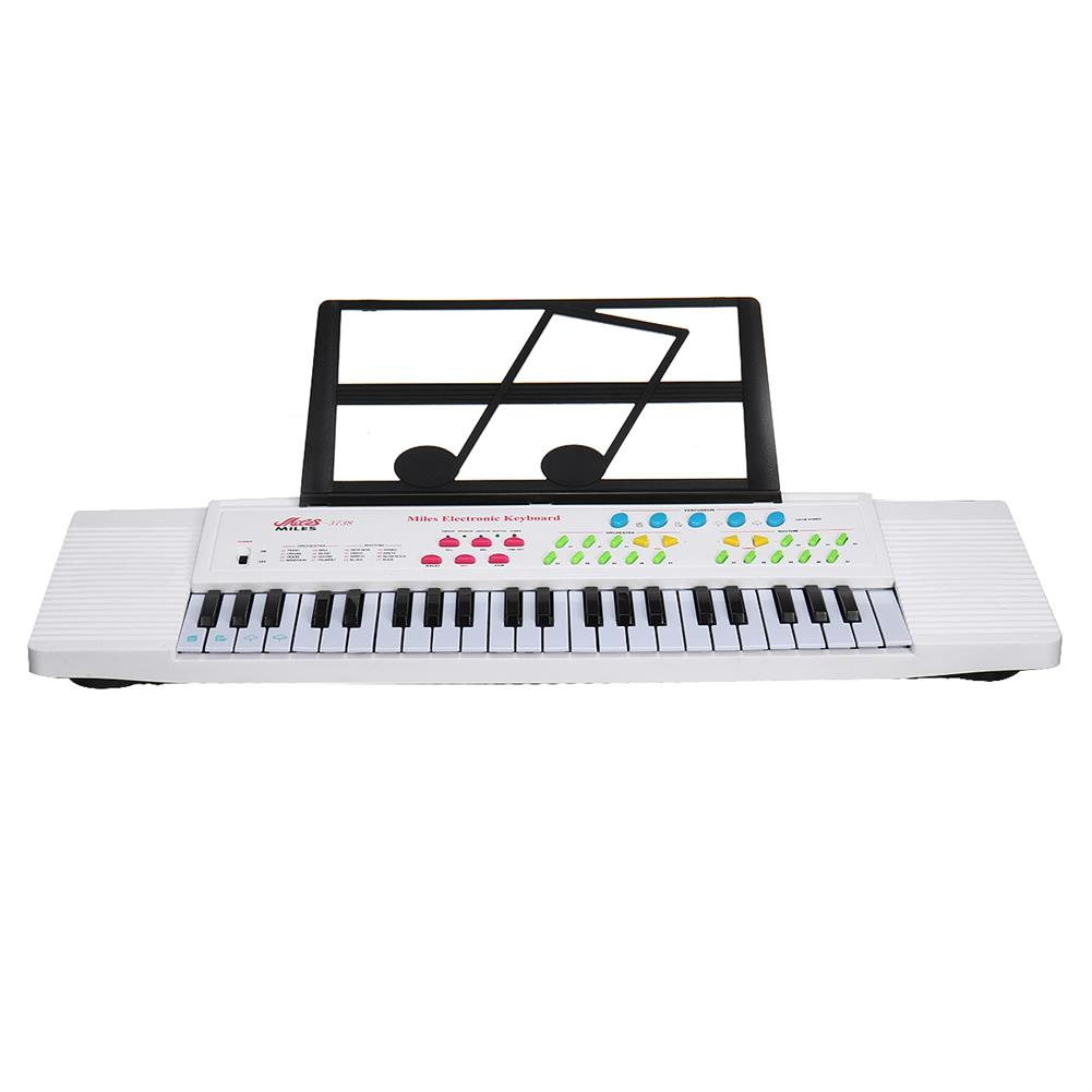 electronic-keyboards 44 Keys Digital Electronic Keyboard Piano with Mini Microphone Music Stand for Children Music Enlightenment HOB1604993 1