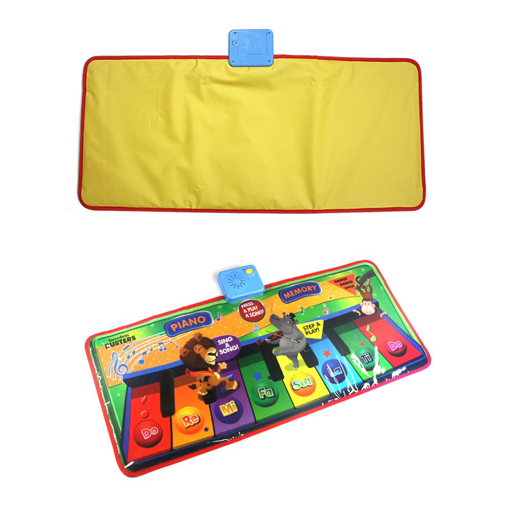 roll-up-piano Foldable Piano Pad Early Education Carpet Singing Piano Music Carpet Mat for Children HOB1604994 1