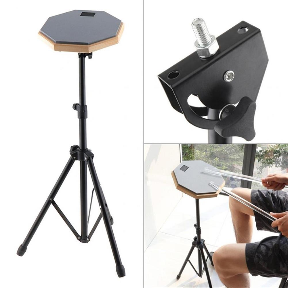 drum-sets 8 inch Rubber Wooden Dumb Drum Pad with Stand Bag for Percussion instruments HOB1604995
