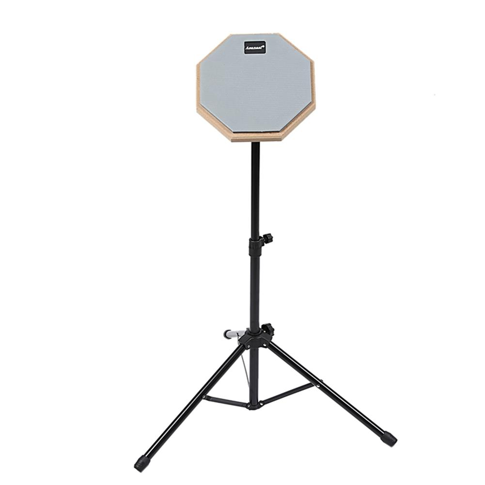 drum-sets 8 inch Rubber Wooden Dumb Drum Pad with Stand Bag for Percussion instruments HOB1604995 1