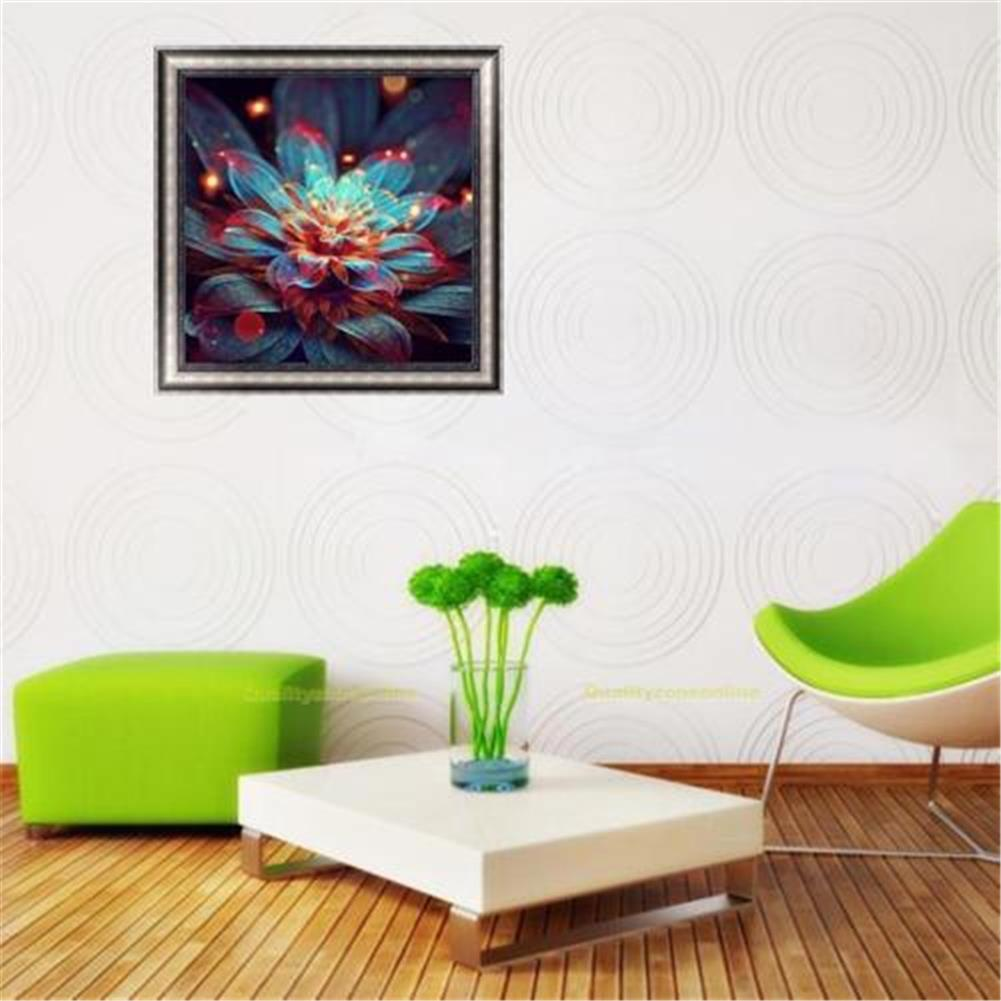decoration Full 5D Diamond Paintings Tool Abstract Flower Craft Stitch Tools Home Wall Decorations HOB1605765 1