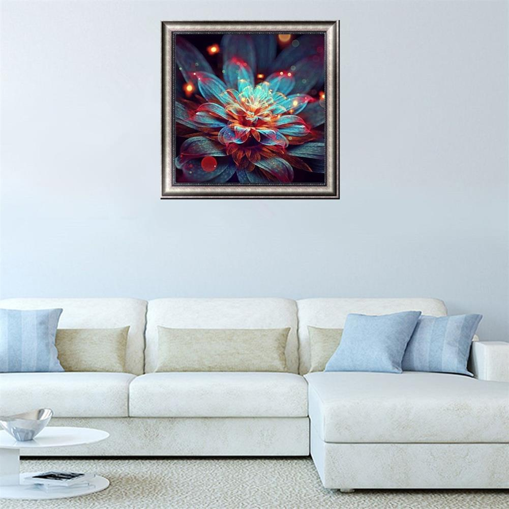 decoration Full 5D Diamond Paintings Tool Abstract Flower Craft Stitch Tools Home Wall Decorations HOB1605765 2