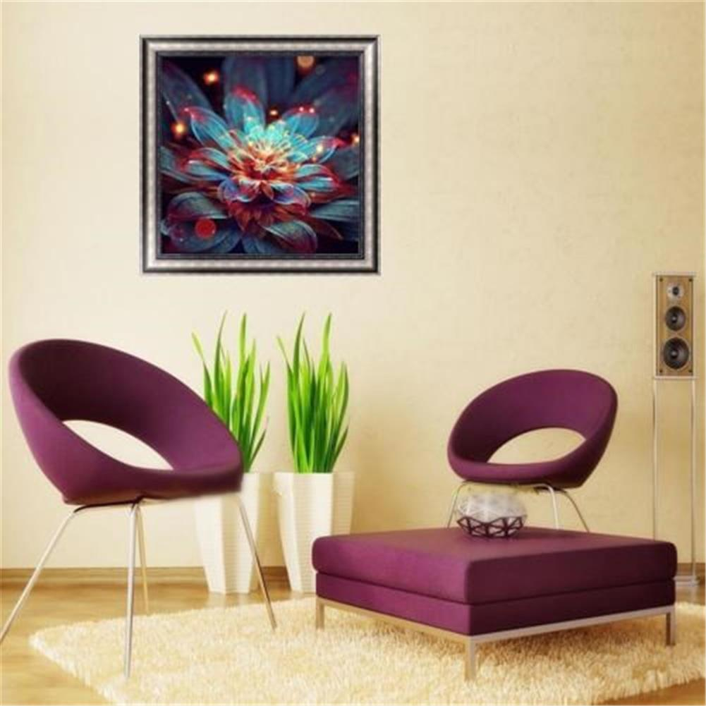 decoration Full 5D Diamond Paintings Tool Abstract Flower Craft Stitch Tools Home Wall Decorations HOB1605765 3