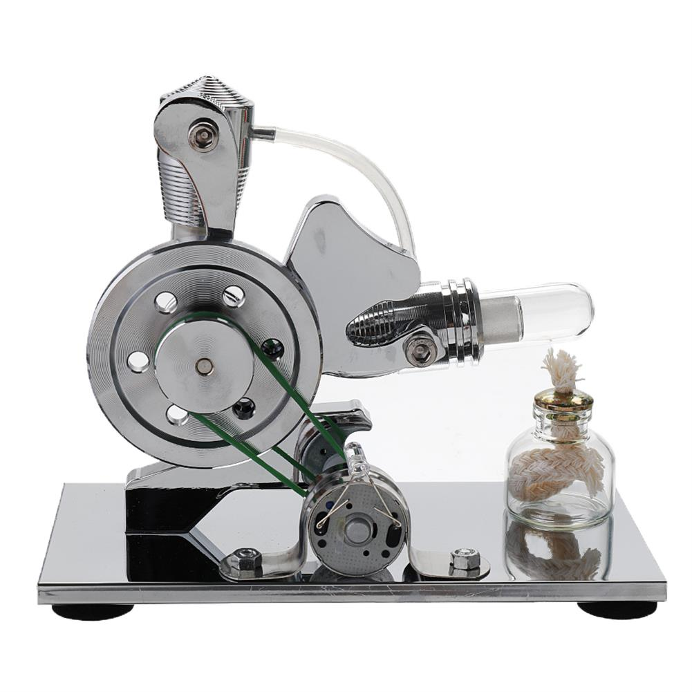 science-discovery-toys Upgrade STEM DIY Mini Air Stirling Engine Generator Motor Model Educational Power Engine Toy HOB1609082