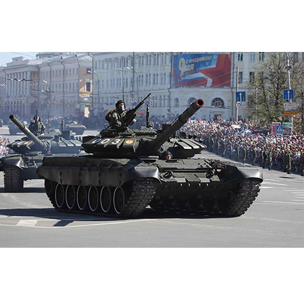model-building Trumpeter 1:35 Russia T-72B3 DIY Assembled Main Battle Tank Static Model Building Set HOB1609084