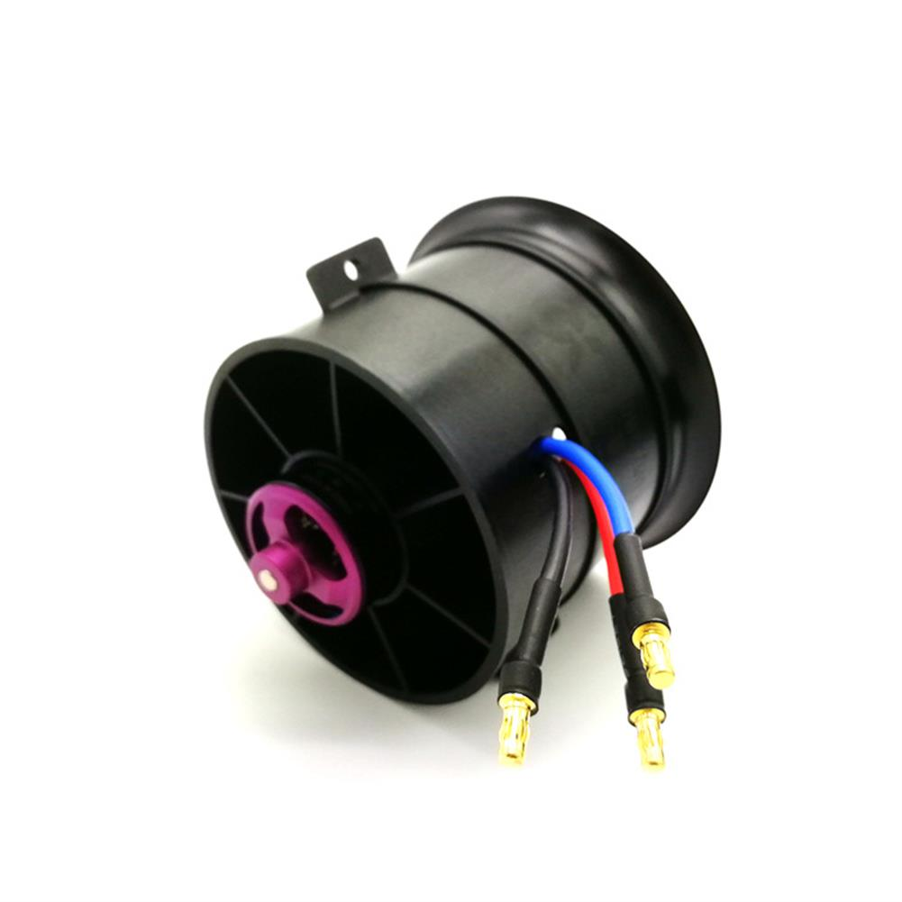 rc-airplane-parts Powerfun EDF 70mm Ducted Fan 4S 3400KV Brushless Motor 12 Blades Propeller for RC Airplane Plane HOB1612490