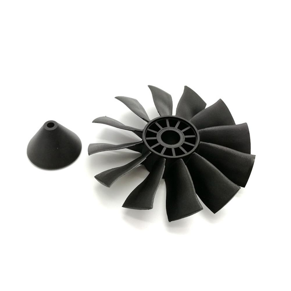 rc-airplane-parts Powerfun EDF 70mm Ducted Fan 4S 3400KV Brushless Motor 12 Blades Propeller for RC Airplane Plane HOB1612490 3