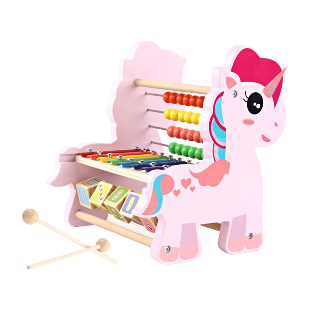 orff-instruments 3 in 1 Multi-function Octave Knock Piano Calculator Number Orff instruments Musical Toy Teaching Aid for Children HOB1613431 1
