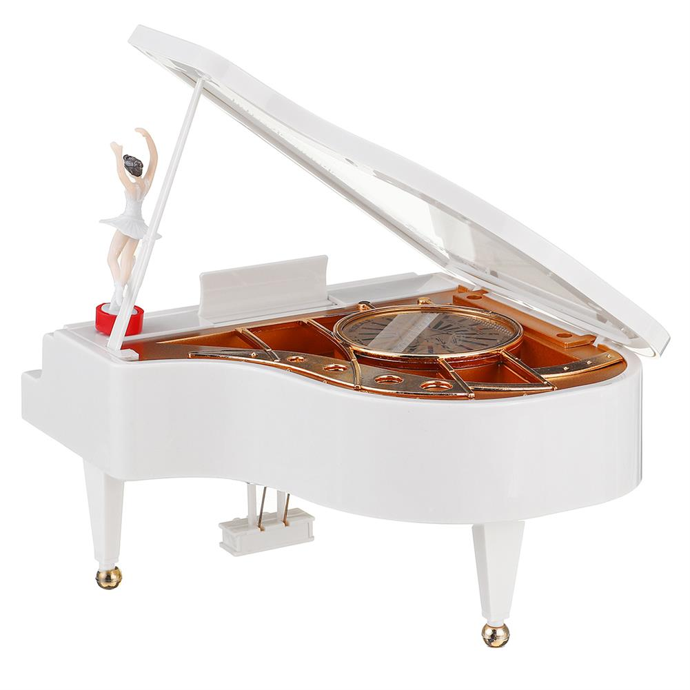 music-box Vintage Ballerina Girl Dancing on the Piano Music Box Christmas Gift Valentine's Day Gift Home Decoration HOB1614970 2