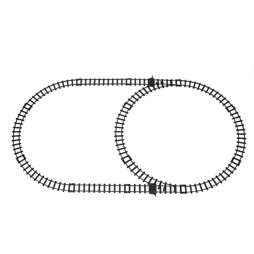 puzzle-game-toys Christmas Electric Rail Train Tracks Set Lights Sound Kids Toys Gift HOB1615562 3
