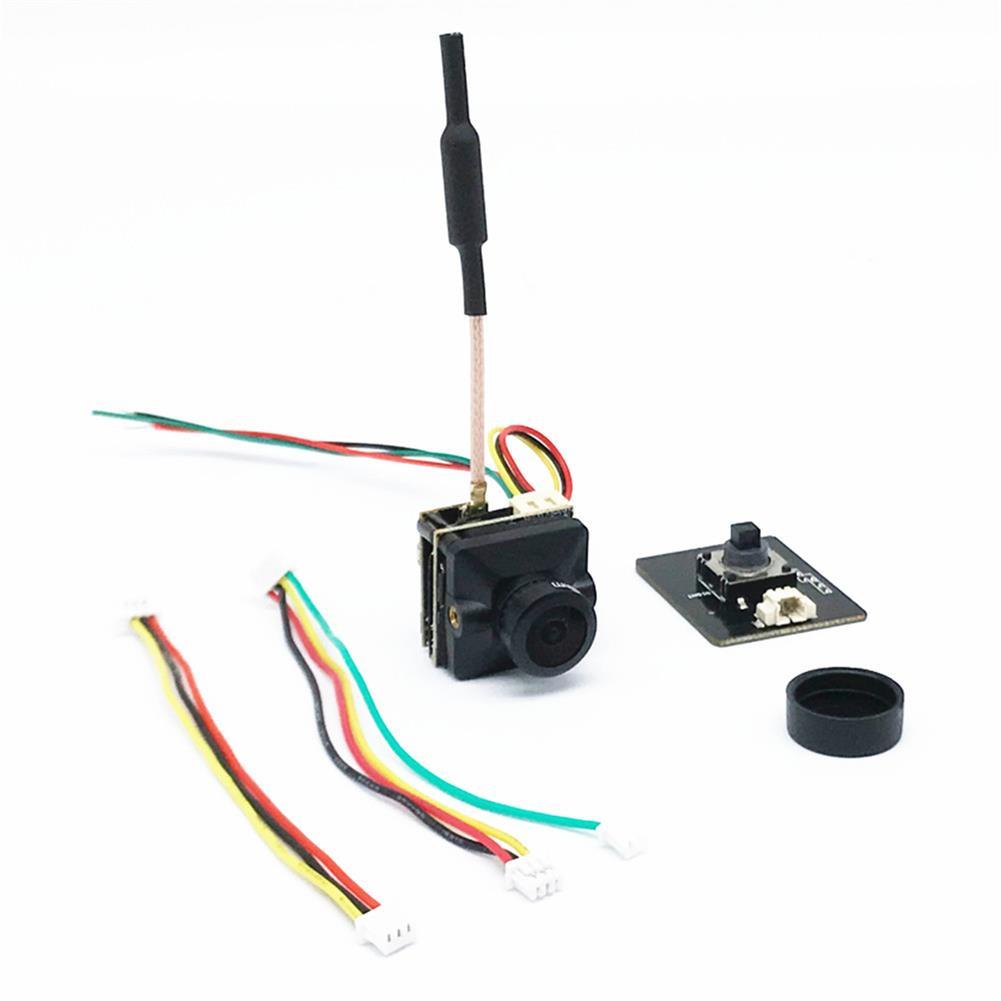fpv-system EWRF e7087U 5.8G Video FPV Transmitter with FPV Camera Cmos 1200TVL 2.1mm Lens for FPV Racing RC Drone DC5-24V HOB1616036 2
