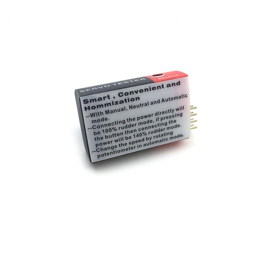 rc-airplane-parts Servo Motor ESC Controller Simple Servo Tester for RC Airplane Spare Part RC Models HOB1616041 3