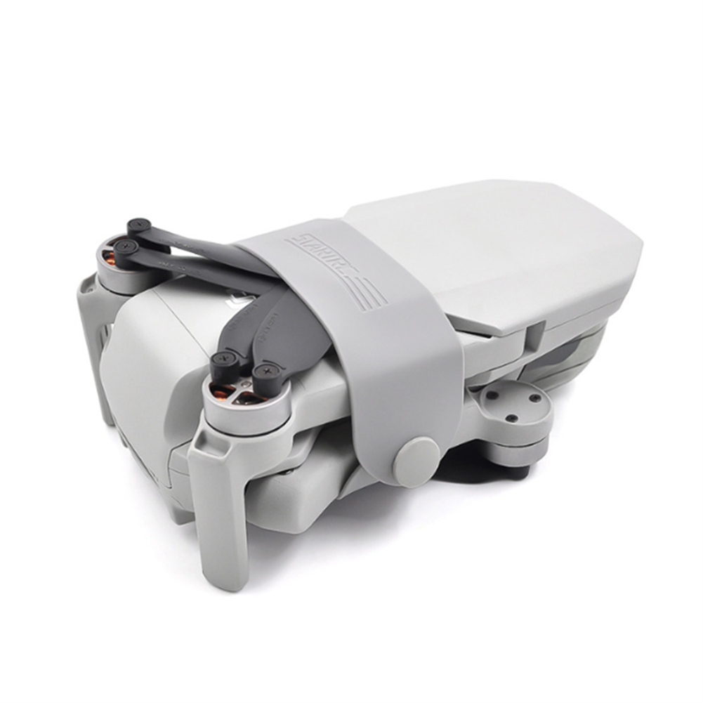 rc-quadcopter-parts STARTRC Propeller Fixator Blade Fixed Strap Silicone Grey for DJI MAVIC MINI RC Drone HOB1618088 1