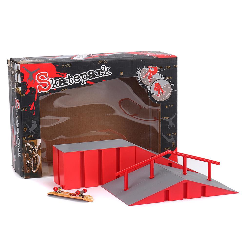 puzzle-game-toys Mini Fingerboard Finger Skateboard & Skate Ramp Skate Park Play Set Kids Toy HOB1619516 1