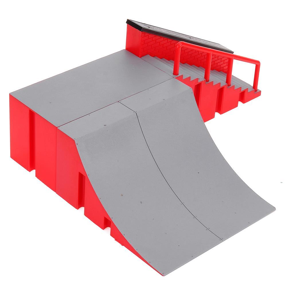 puzzle-game-toys Mini Fingerboard Finger Skateboard & Skate Ramp Skate Park Play Set Kids Toy HOB1619516 3