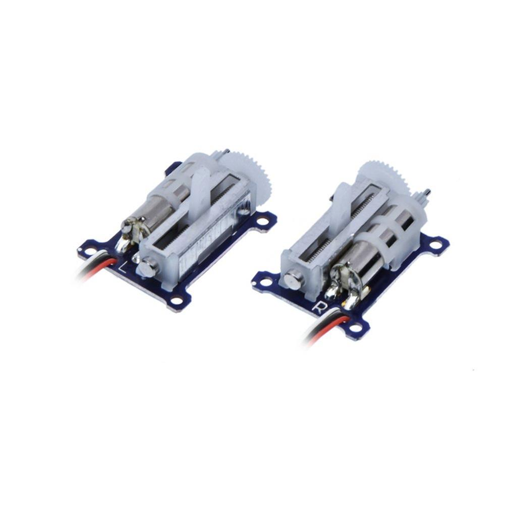 rc-airplane-parts 1 Pair AFRC D1015 1.5g Pro Micro Linear Servo with Optional JST/JR/FUTABA Plug for indoor 3D Small RC Airplane HOB1619739 1