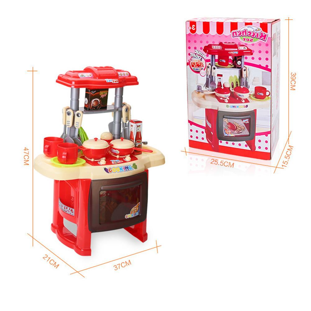 puzzle-game-toys Kid Children Kitchen Pretend Play Cooking Set Toys Toddlers Home Dinner Cookware HOB1620517 3
