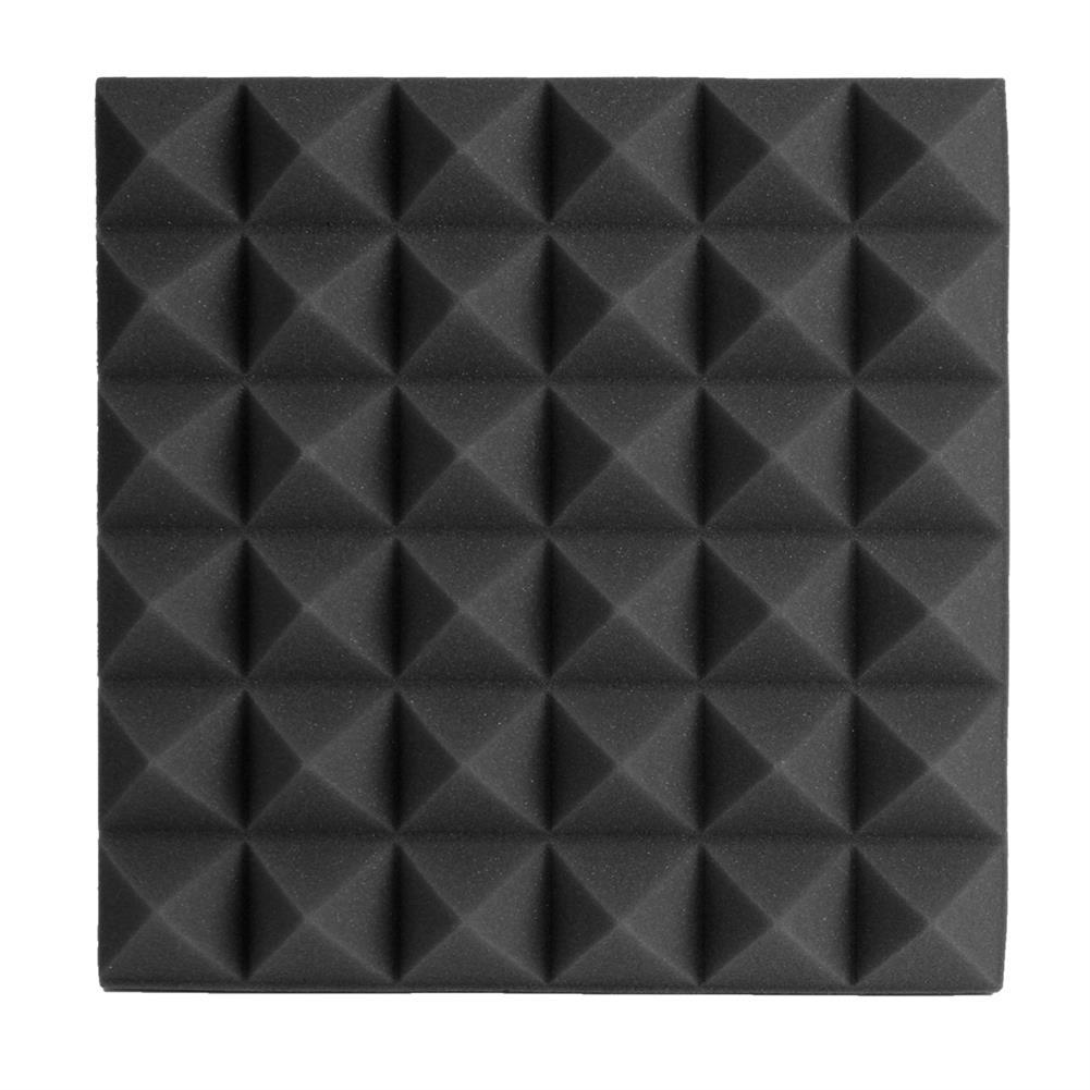 general-accessories 24PCS 300x300x50mm Soundproofing Foam Studio Acoustic Foam Soundproof Absorption Treatment Panel Tile Polyurethane Foam HOB1621205 1