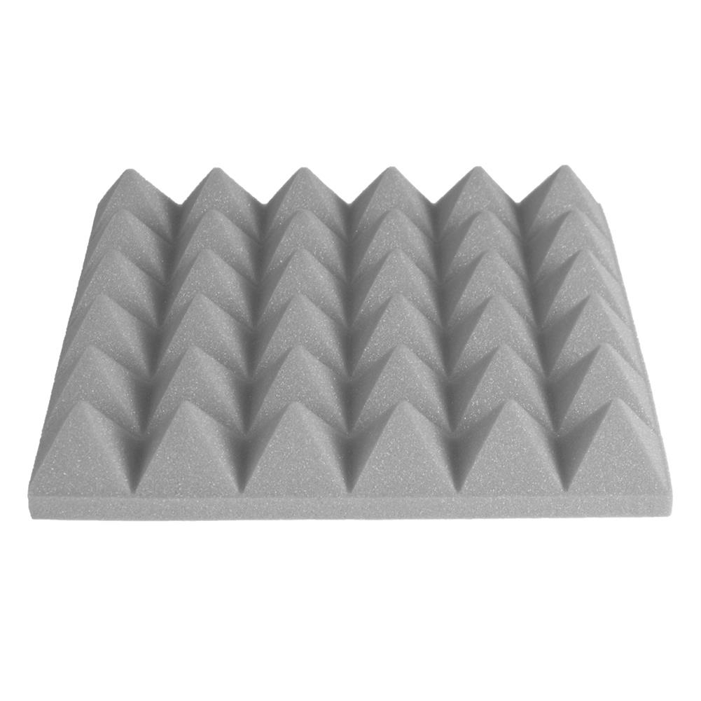 general-accessories 24PCS 300x300x50mm Soundproofing Foam Studio Acoustic Foam Soundproof Absorption Treatment Panel Tile Polyurethane Foam HOB1621205 3