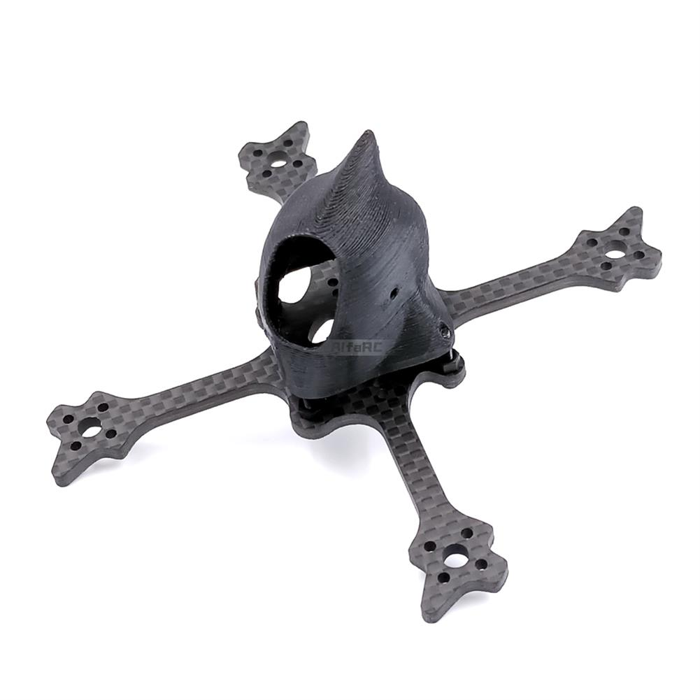 multi-rotor-parts AlfaRC Eyas100 100mm Ture X Type Freestyle Frame Kit Support 1103 1104 1206 Motor for Toothpick FPV Rcing RC Drone HOB1623489 3
