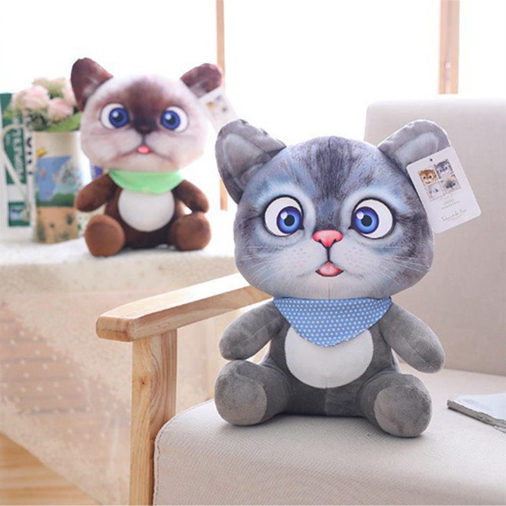stuffed-plush-toys 20/30 CM Cute Soft Stuffed Cat Seat Dolls Pillow Cushion Plush Animal Toy for Kids Gifts HOB1627705 1