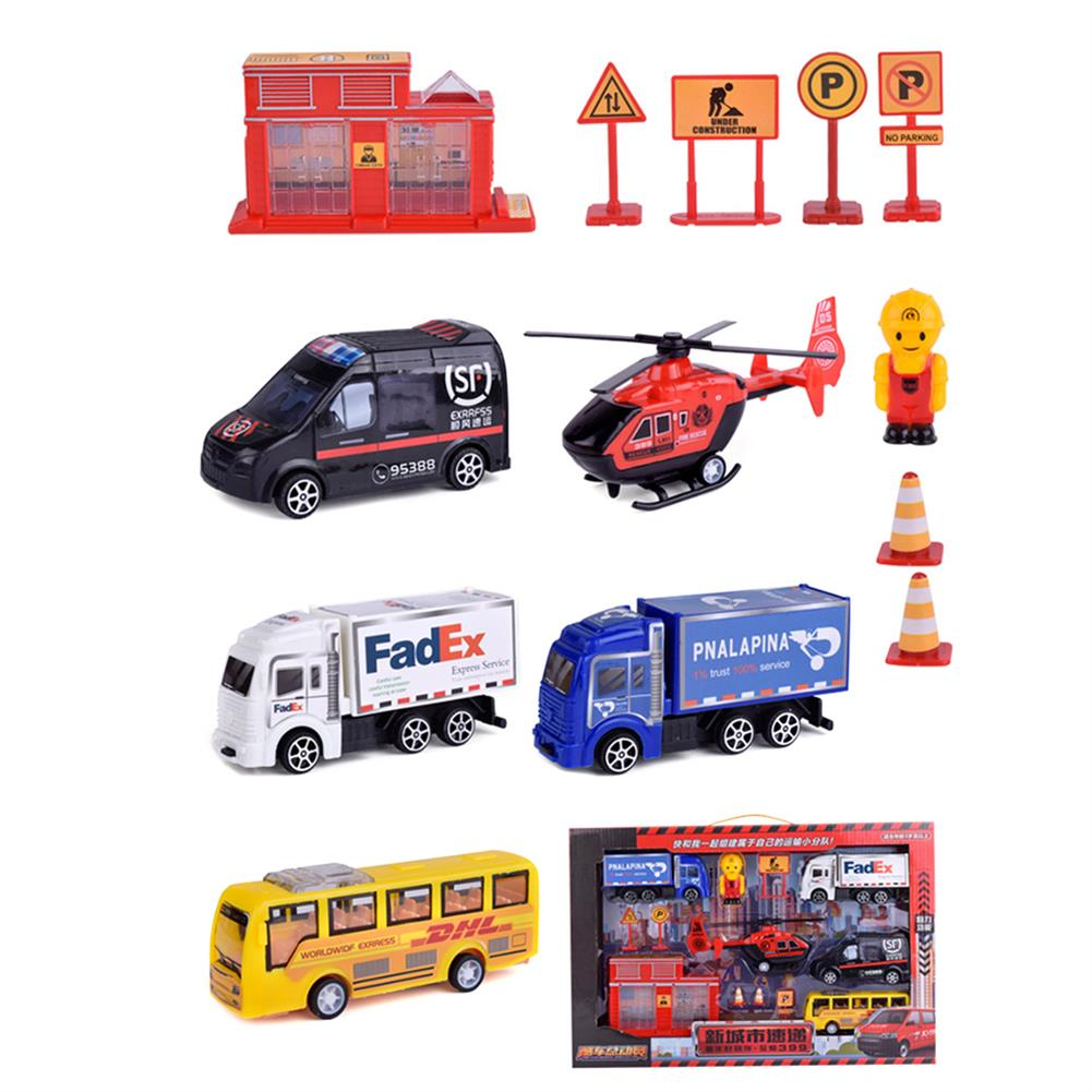 diecasts-model-toys Multiple Styles Engineering Military Aviation Sanitation Fire Truck Car Diecast Model Toy Set for Kid Gift HOB1627710 1