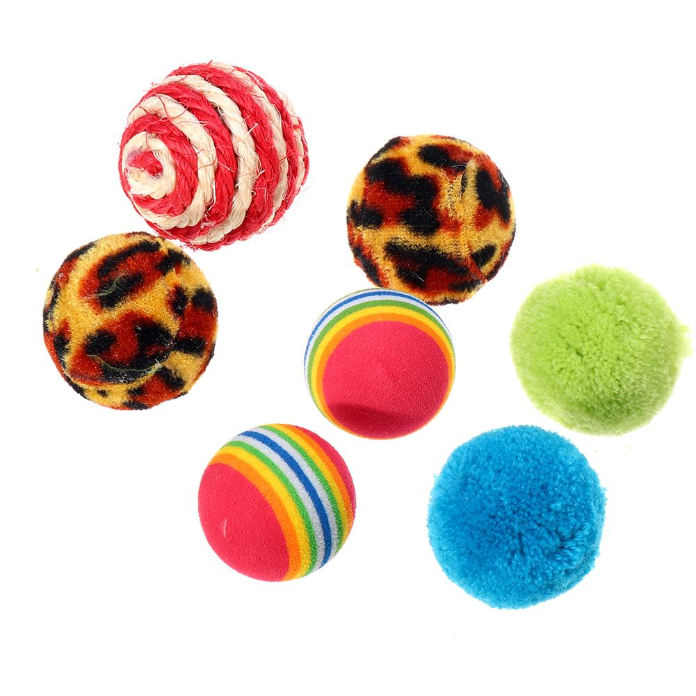puzzle-game-toys Cat Play Toys Roller Plush Ball Feather Teaser Wand interactive Mouse Tunnel HOB1628991 3
