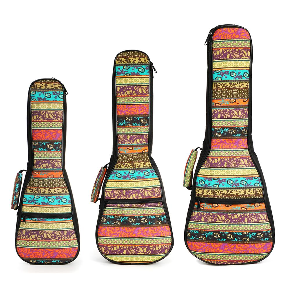 guitar-accessories 21 23 26 inch Double Strap Soft Padded Oxford Cloth Ukulele Gig Bag HOB1629295