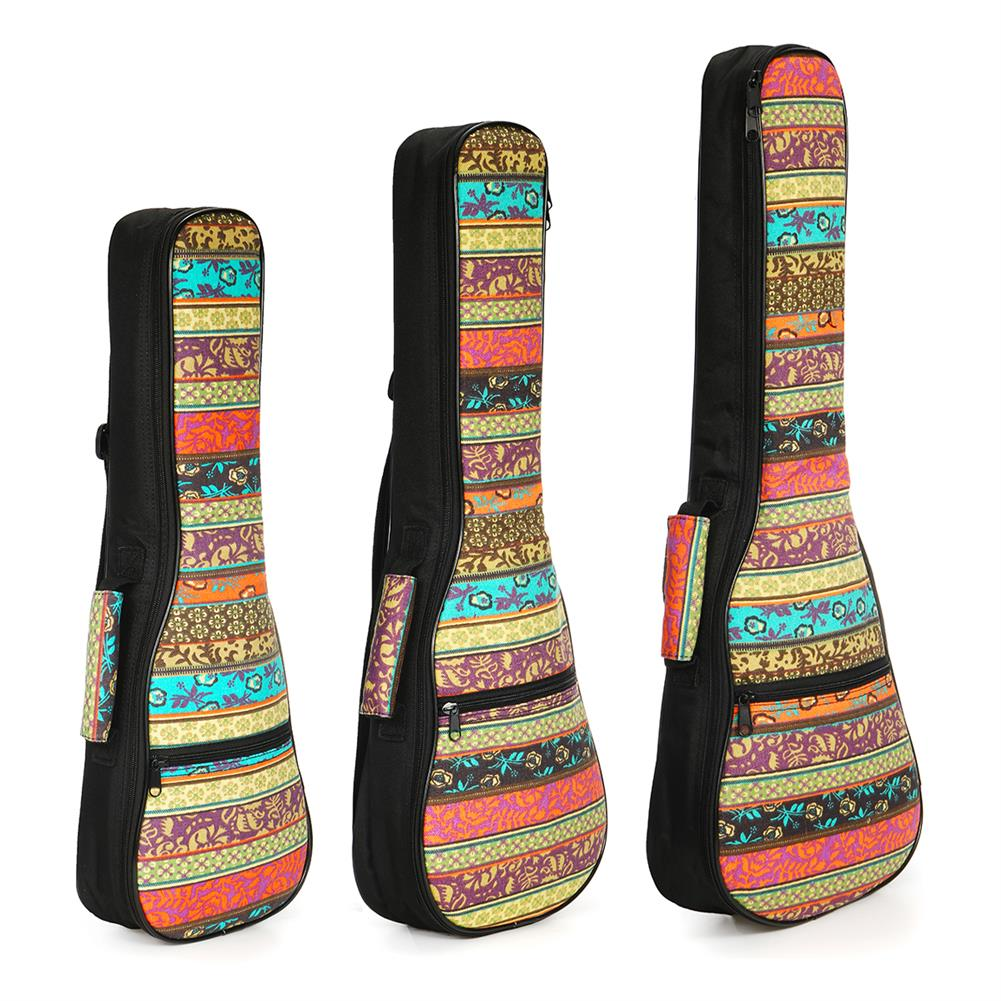 guitar-accessories 21 23 26 inch Double Strap Soft Padded Oxford Cloth Ukulele Gig Bag HOB1629295 1