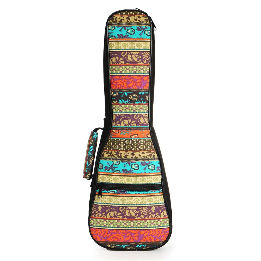 guitar-accessories 21 23 26 inch Double Strap Soft Padded Oxford Cloth Ukulele Gig Bag HOB1629295 2