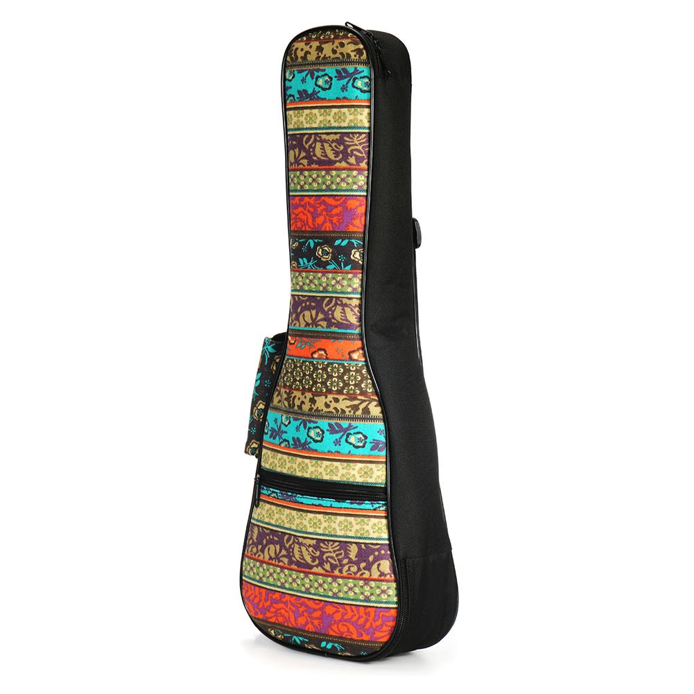 guitar-accessories 21 23 26 inch Double Strap Soft Padded Oxford Cloth Ukulele Gig Bag HOB1629295 3