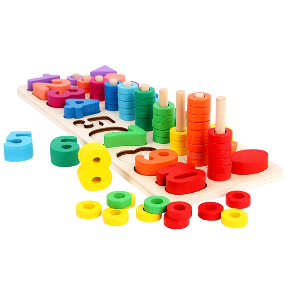 puzzle-game-toys Wooden Math Toy Board Montessori Counting Board Preschool Learning Toys for Children Gifts HOB1629382 1