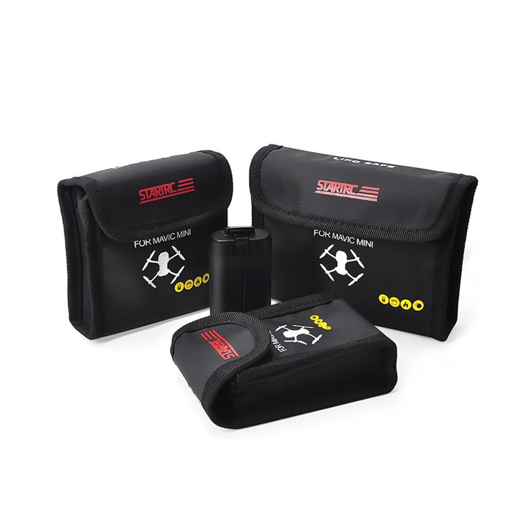 rc-quadcopter-parts STARTRC LiPo Battery Explosion-proof Fireproof Protective Safe Storage Bag for DJI Mavic Mini RC Drone HOB1629441
