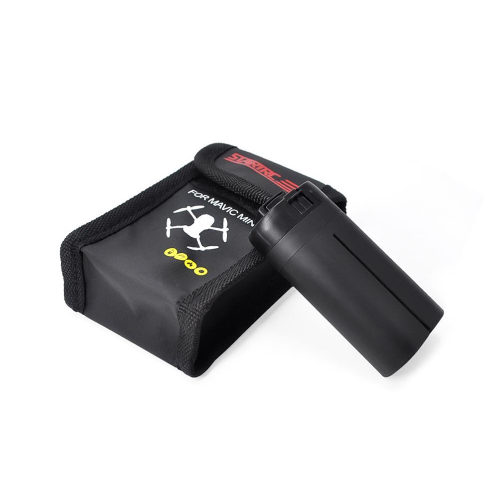 rc-quadcopter-parts STARTRC LiPo Battery Explosion-proof Fireproof Protective Safe Storage Bag for DJI Mavic Mini RC Drone HOB1629441 1