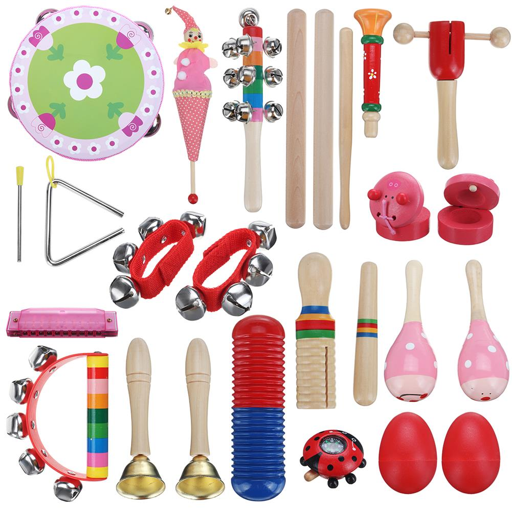 orff-instruments 22 Pieces Set Orff Musical instruments Hand Percussion Musical Toy for Kids Music Learning/KTV Party Playing HOB1629466